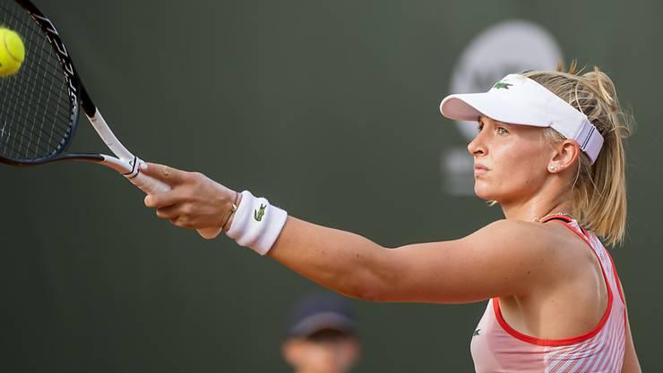 Jil Teichmann startet in Auckland mit einem Sieg ins Tennisjahr 2020