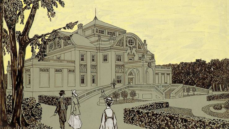 Kunst oder Architektur? Kirchners «Schlösschen für einen Kunstliebhaber».zvg