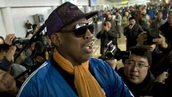 Nach Ankunft in den USA checkte Rodman in Klinik ein (Archiv)