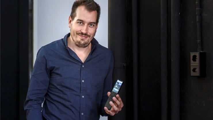 Raphael Oberholzer  Co-Gründer und CEO von Neeo