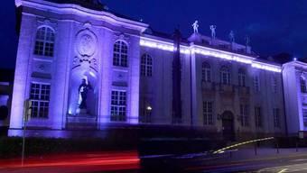 Die Stiftung Mozarteum, eine der Spielstätten, an denen die Salzburger Festspiele vom 20. Juli bis 30. August stattfinden.