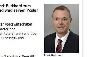 Der neue Polizeikommandant: Mark Burkhard.