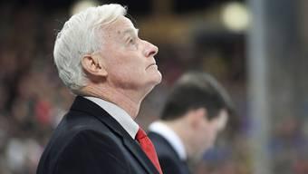 Dave King waltet als Trainer an der Bande vom Team Canada.