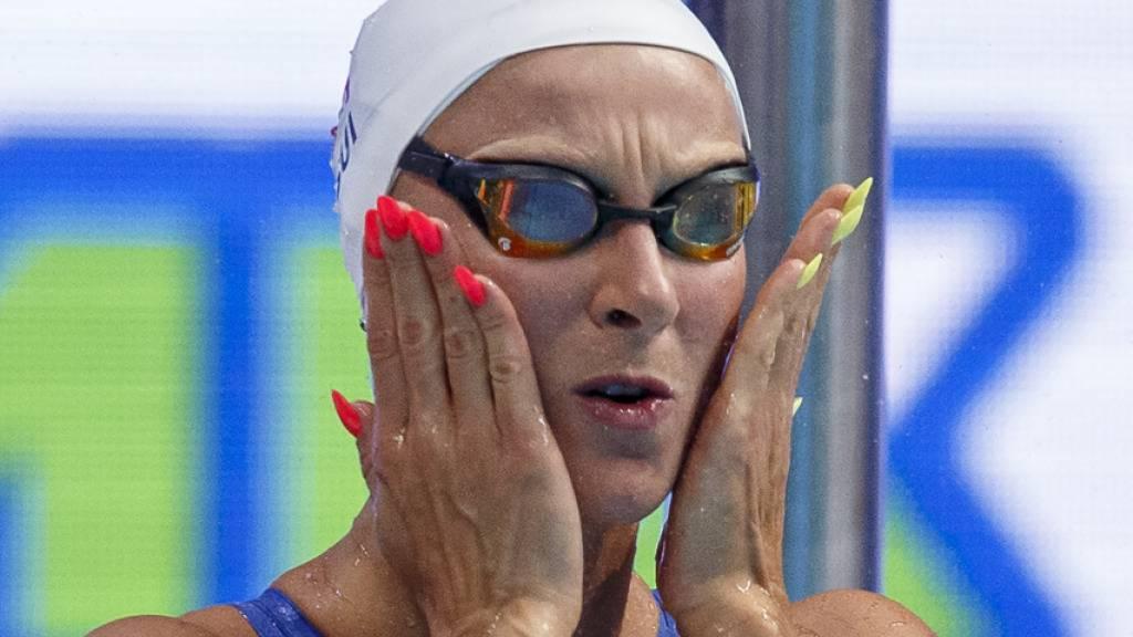 Maria Ugolkova erreicht in Budapest über 200 m Lagen souverän die EM-Halbfinals. Vor drei Jahren in Glasgow gewann sie an den Europameisterschaften auf dieser Strecke Bronze