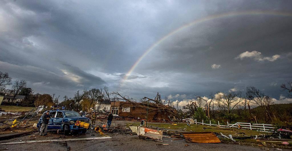 Sturmwetter in den USA (© Keystone)