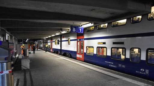 33-Jähriger stürzt unter anfahrenden Zug und wird schwer verletzt
