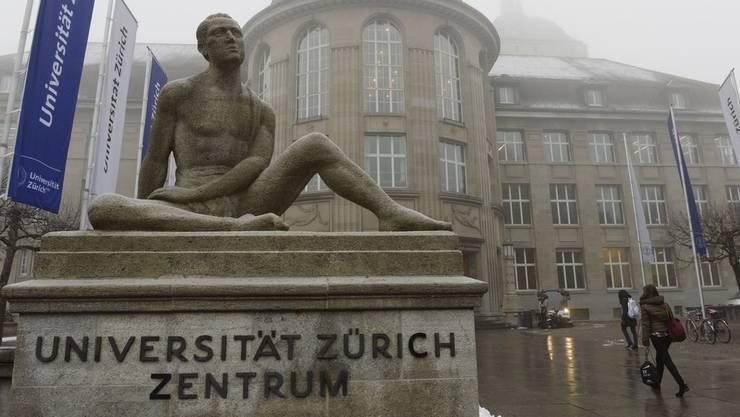 27 Professuren der Universität Zürich werden von nicht öffentlichen-Förderern mitfinanziert.