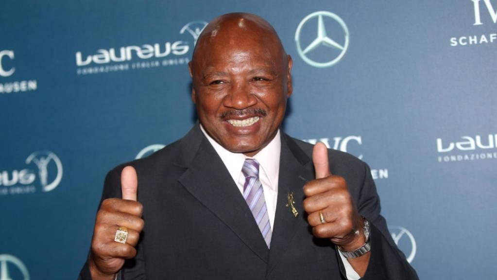 Der amerikanische Profi-Boxer Marvin Hagler ist im Alter von 66 Jahren verstorben. (Archivbild)