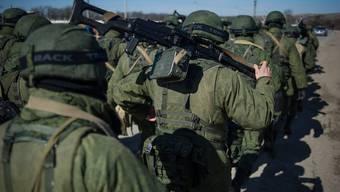 Angeblich zieht Russland zehntausende Soldaten an der Grenze zur Ukraine zusammen. (Archiv)
