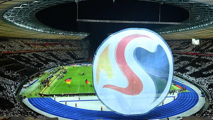 Favorit für die EM 2024: Deutschland mit dem Olympiastadion in Berlin
