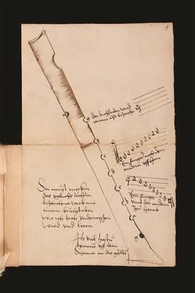 Blockflötenschule der Welt, 1510. UB/zvg