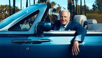 Jagte einst Stars für ein Autogramm, heute zählt er viele von ihnen zu seinen Freunden: Filmproduzent Jerry Weintraub. Norman Jean Royhbo
