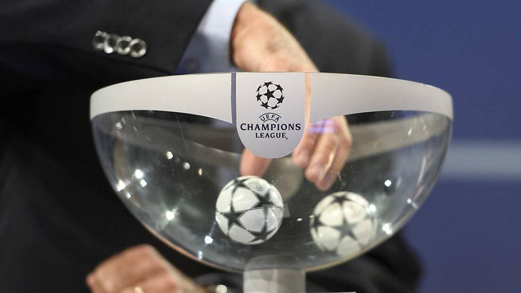 In Nyon wurden am Freitagmittag die Viertelfinals in der Champions League ausgelost