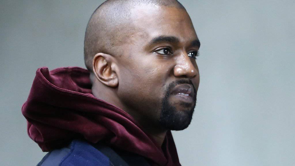 Kanye West lässt die Katze aus dem Sack