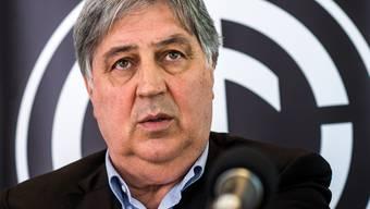 Hofft darauf, dass die Meisterschaft noch weitergeht: Lugano-Präsident Angelo Renzetti.