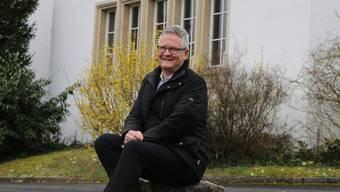 Seit 2014 Pfarrer der reformierten Kirchgemeinde Frick: Johannes Siebenmann.