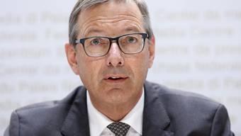 Die Sicherheitspolitische Kommission des Ständerates befürwortet den Kauf neuer Kampfflugzeuge für 6 Milliarden Franken. Umstritten ist die Frage der Offset-Geschäfte, wie Kommissionspräsident Josef Dittli (FDP/UR) sagte. (Archivbild)