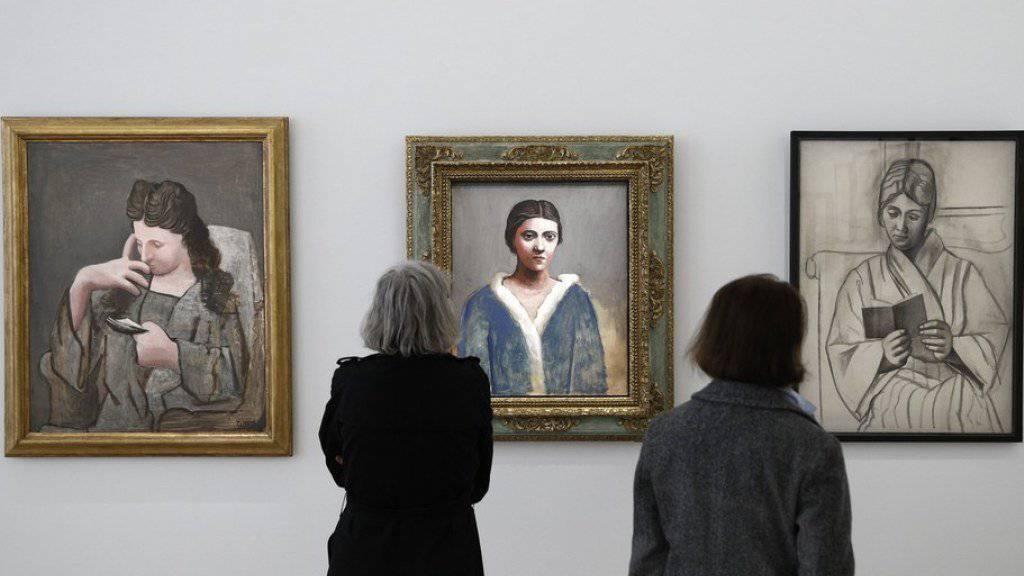 Das Musée Picasso in Paris zeigt die Ausstellung «Olga Picasso». Zu sehen sind Bilder von Picassos erster Frau Olga. Die Schau dauert bis 3. September 2017.