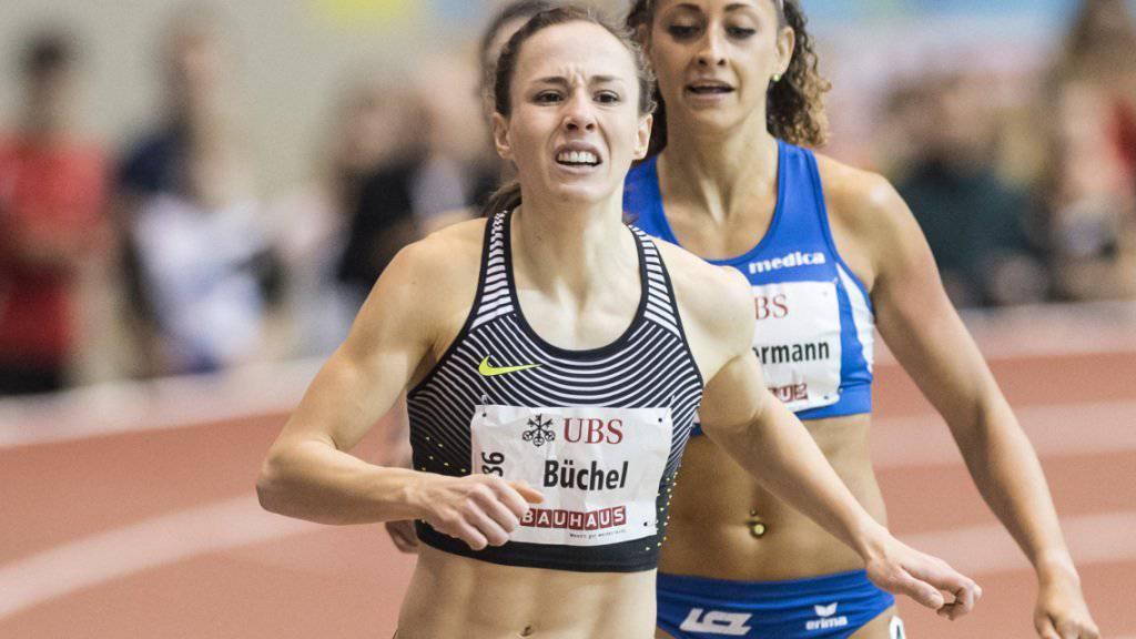 Tritt an den Hallen-Europameisterschaften in Belgrad als Titelverteidigerin über 800 m an: Selina Buechel