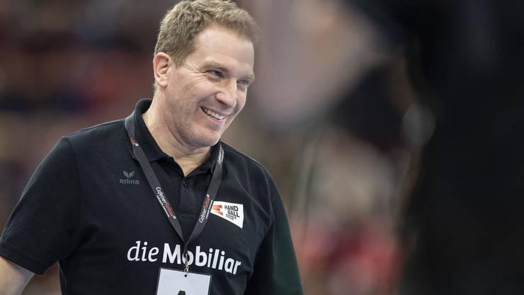 Michael Suter: Der Trainer hat dem Schweizer Handball neues Leben eingehaucht.