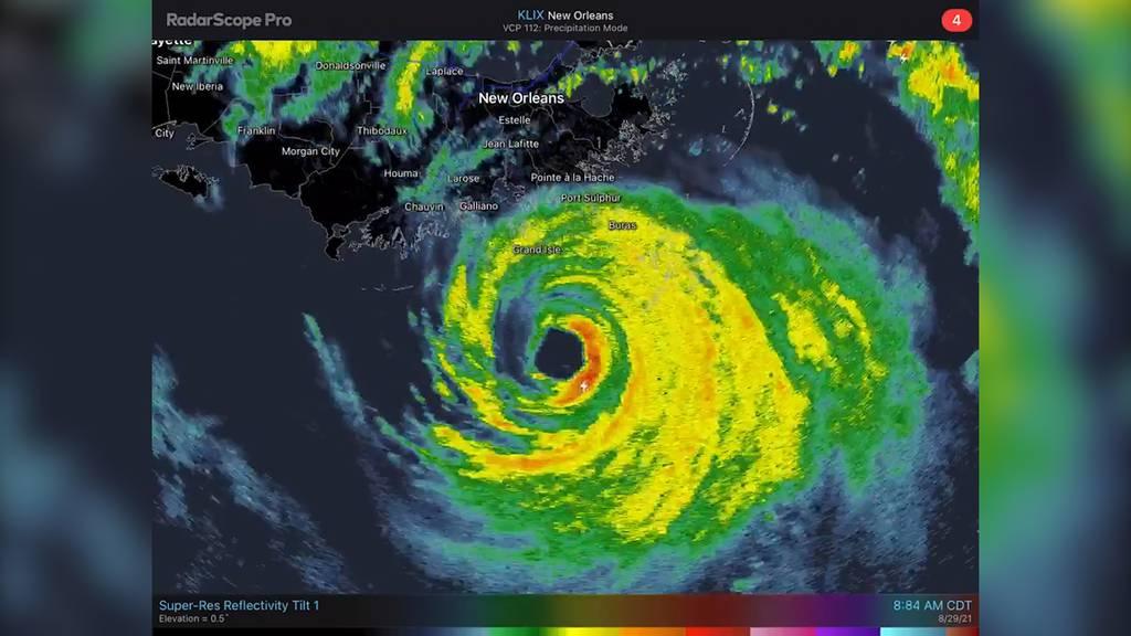 Vorläufer von Hurrikan «Ida» erreichen US-Küste