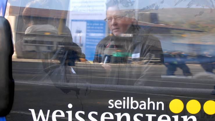 2009 hoffte die Seilbahn Weissenstein mit VR-Präsident Urs Allemann noch auf eine rasche Realisierung der Gondelbahn