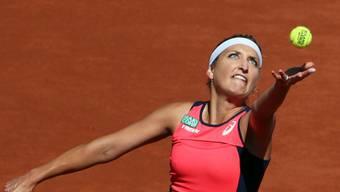 Timea Bacsinszky verlor in St. Petersburg ihr Auftaktspiel