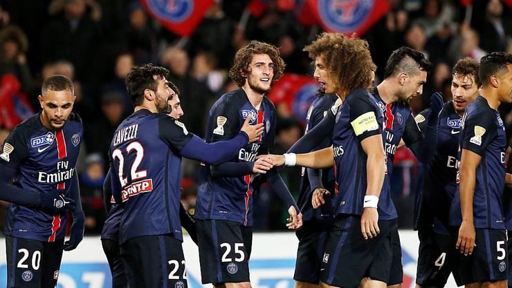 Paris Saint-Germain befindet sich im Dauerjubel