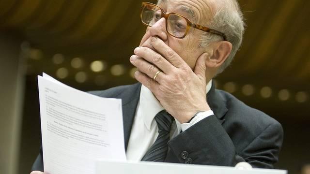 Auch Jean Ziegler (im Bild) unterstützt Hanfbauer Bernard Rappaz (Archiv)