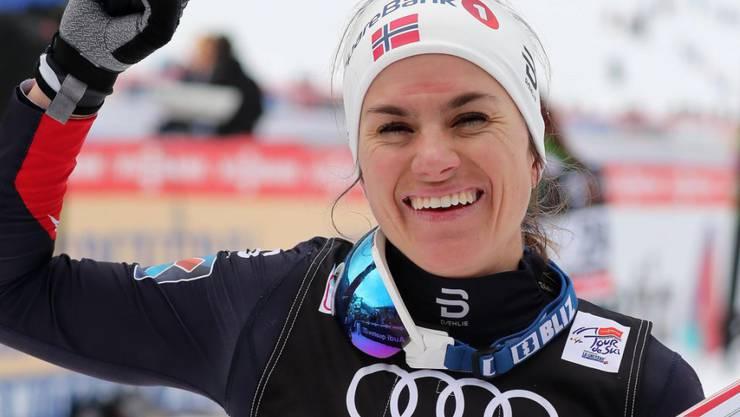 Erfolgreiche Titelverteidigerin an der Tour de Ski: Heidi Weng