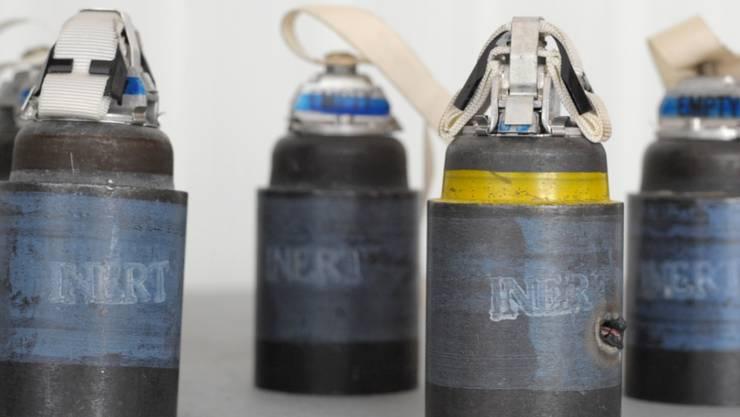 Streumunition ist international geächtet - nun will der letzte US-Hersteller seine Produktion von Streubomben einstellen. (Symbolbild)