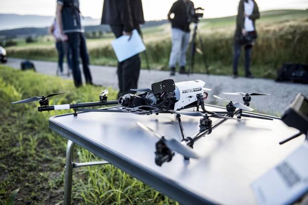 Drohnen in der Landwirtschaft zum Schutz von Rehkitzen.