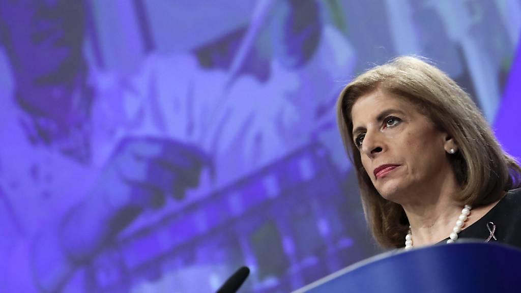 EU-Kommissarin beklagt mehr als 400'000 Corona-Tote in der EU