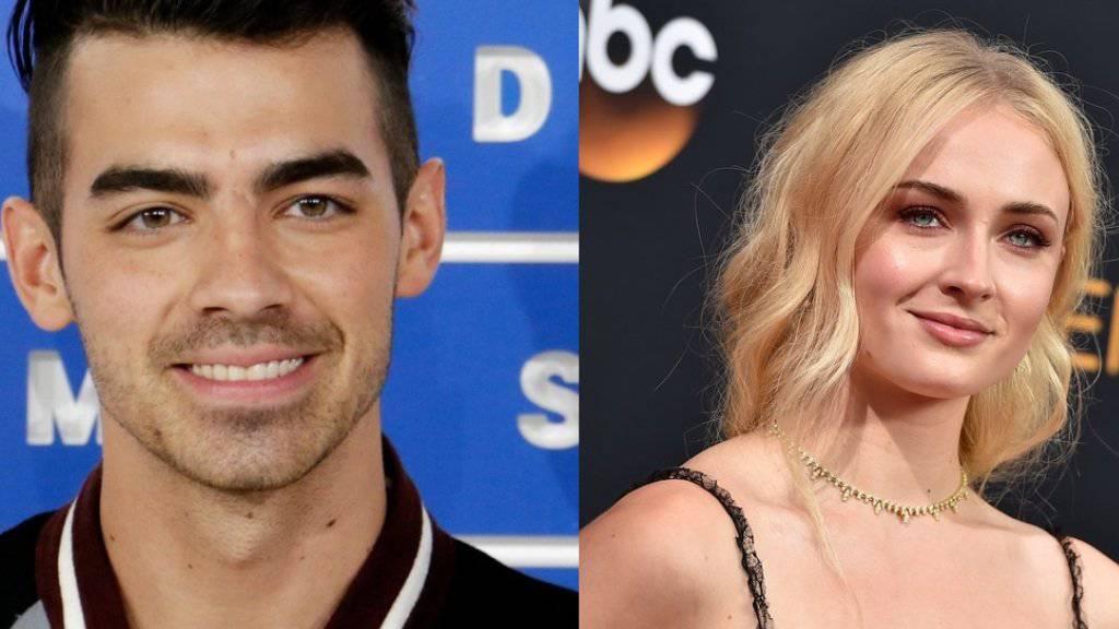 Läuft da was? Sänger Joe Jonas und Schauspielerin Sophie Turner. (Archivbilder)