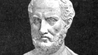 Thukydides (um 454 bis 399/96) schrieb über den Krieg zwischen Athen und Sparta.