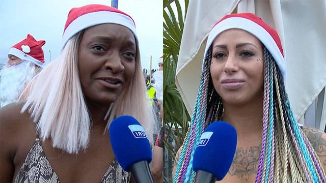 «Es war eiskalt!»: Ana und Bellydah frieren für guten Zweck
