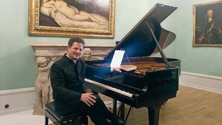 Pianist Oliver Schnyder lud zum Träumen ein.