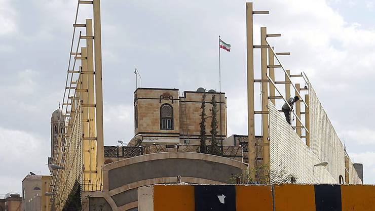 Die iranische Botschaft in Sanaa. (Archiv)