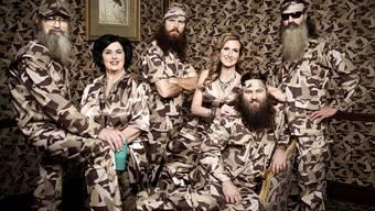 Die erfolgreichste US-TV-Soap: «Duck Dynasty». Eine Soap über einen kosnervativen Entenjäger-Clan in den Südstaaten.