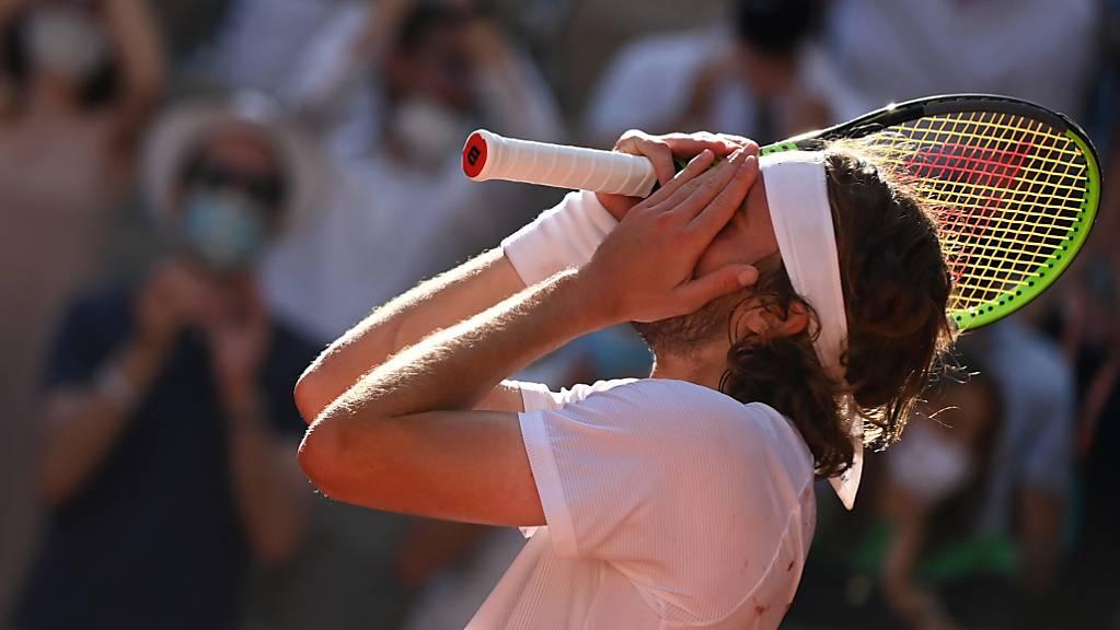 Stefanos Tsitsipas steht als erster Grieche in einem Grand-Slam-Final