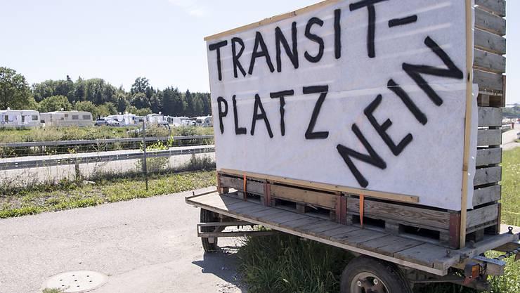 In Wileroltigen BE gab es letzten Sommer Widerstand gegen einen geplanten Transitplatz für Fahrende. (Archivbild)