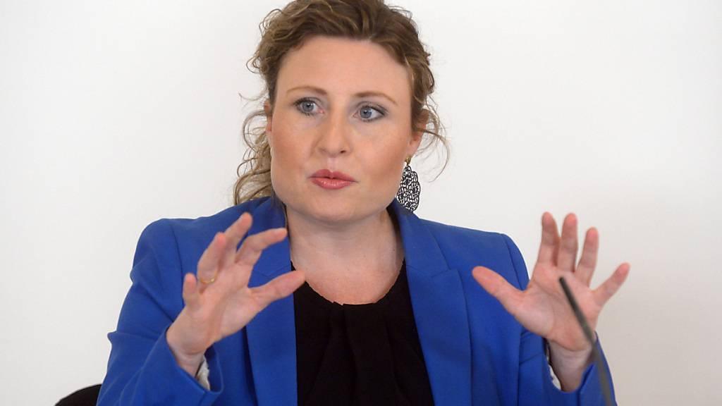 Susanne Raab (ÖVP), österreichische Kanzleramts- und  Integrationsministerin. Foto: Herbert Pfarrhofer/APA/dpa