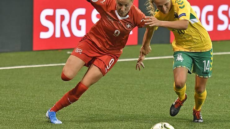 Ana-Maria Crnogorcevic ist mit 54 Toren in 114 Länderspielen die beste Schweizer Torschützin der Geschichte