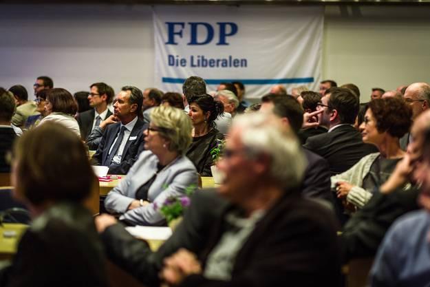 FDP-Parteitag zu den Nationalratswahlen im Herbst 2015: Die Partei sagt ausserdem Nein zur Erbschaftssteuerinitiative.