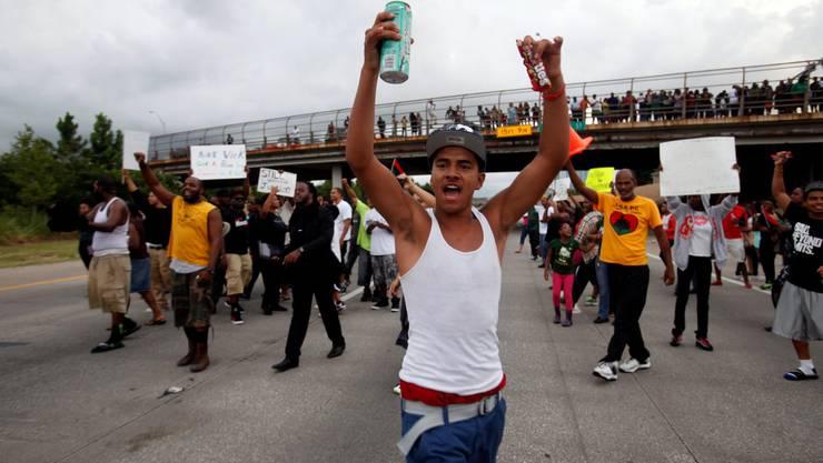 Proteste nach dem Freispruch des Todesschützen von Trayvon Martin
