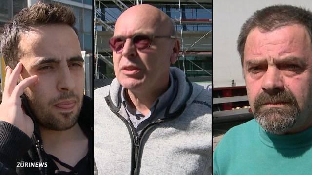 Hörgeschädigte Bauarbeiter nehmen Stellung zu UNIA-Trillerpfeifenaktion