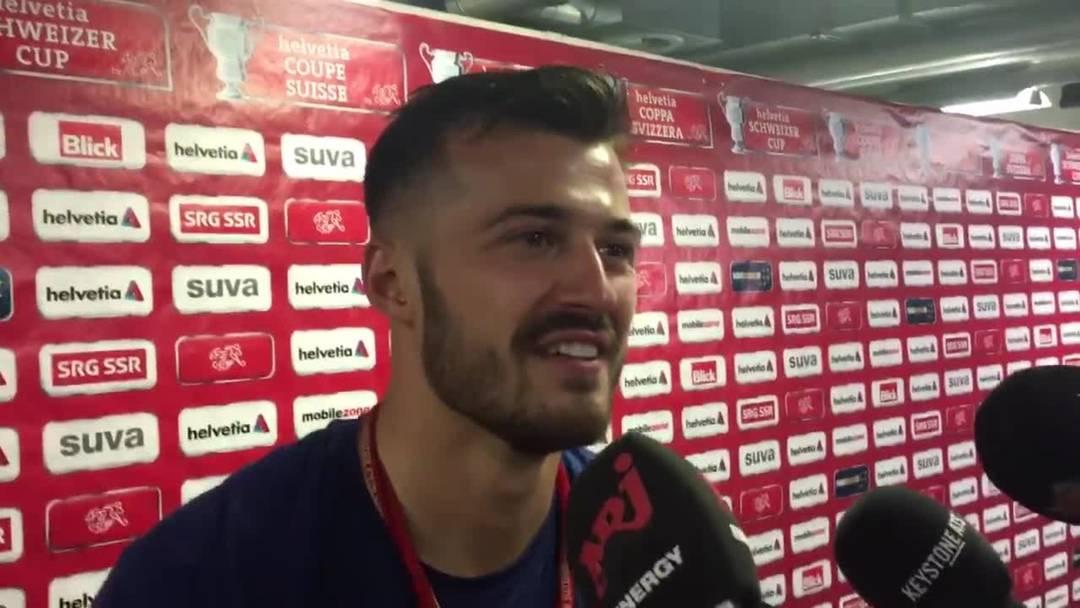 """Albian Ajeti zum Cupsieg: """"Das ist ein Cupfinal, da gibt es keinen Favoriten"""""""