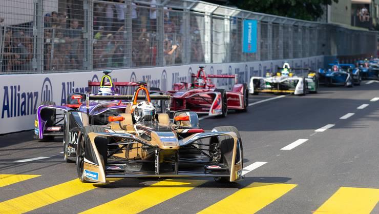 Formel-E-Rennen in Zürich.