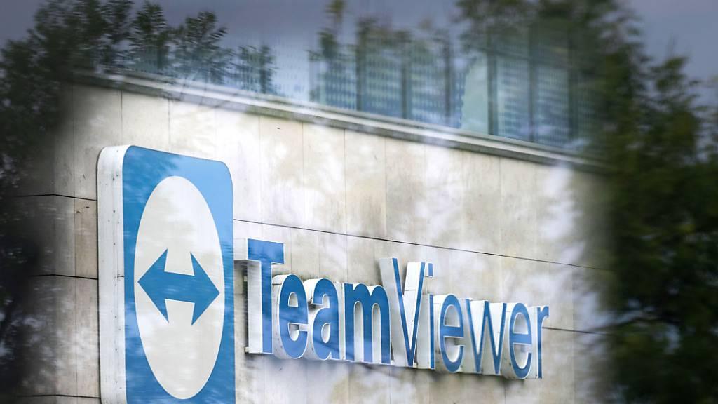 Das deutsche Softwarehaus Teamviewer profitiert in der Coronakrise vom vermehrten Arbeiten im Home Office. Teamviewer steigerte den Umsatz und will weiter kräftig wachsen.(Archivbild)