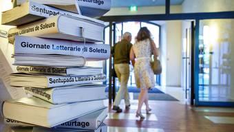 Literatur muss klingen: An den Solothurner Literaturtagen steht die Autorenlesung im Zentrum.
